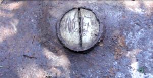 Identificação de uma das bombas encontradas
